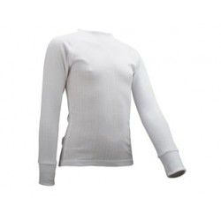 Thermoshirt Junior met lange mouwen *WIT* (Art. 91701)