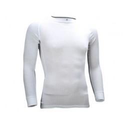 Thermoshirt Heren met lange mouwen *WIT* (Art. 32701)
