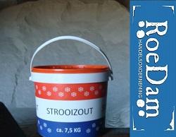 Strooizout is bij Roedam voldoende op voorraad.