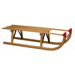 Davos houten slee 100 centimeter beukenhout (model 3720)