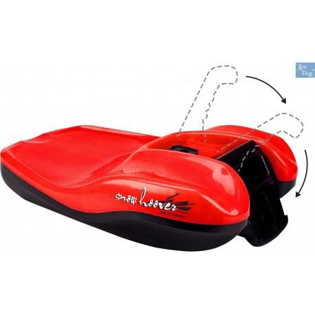 Snowhoover sledge plastic with collapsible stick (Model 0620)