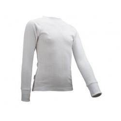 Thermoshirt Junior met lange mouwen *WIT* (Art. 91701)