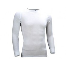 Thermoshirt Heren met lange mouwen *WIT* (Art. 32701)